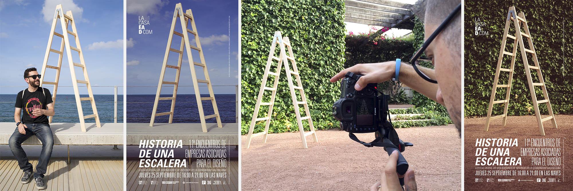 Encuentros EAD 2014 | Proyecto de diseño gráfico para el CDICV Colegio Oficial de Diseñadores de Interior de la Comunidad Valenciana | samarucestudio.com